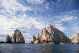 Rock Formations at Cape San Lucas Photographic Print by Neil Rabinowitz