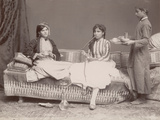 Syrian Women Resting Photographic Print