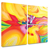Secret Life of Lily Gallery-Wrapped Canvas Stretched Canvas Print by Susi Franco