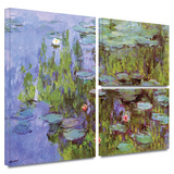 Sea Roses Gallery-Wrapped Canvas Gallery Wrapped Canvas Set by Claude Monet