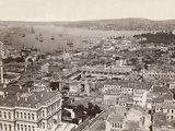 Overhead View of Constantinople Photographic Print