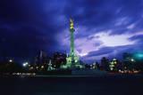 Independence Monument in Mexico City Fotografie-Druck von Randy Faris