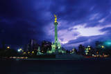 Independence Monument in Mexico City Photographic Print by Randy Faris