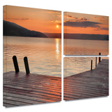 Another Kekua Sunrise Gallery-Wrapped Canvas Stretched Canvas Print by Steve Ainsworth