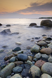 The Rocky Shoreline of Green Point at Sunset, Gros Morne National Park, UNESCO World Heritage Site, Photographic Print by Rolf Hicker