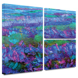 Charlits Floral Gallery-Wrapped Canvas Prints by Susi Franco