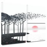 Aki Gallery-Wrapped Canvas Stretched Canvas Print by Cynthia Decker