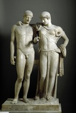 Roman Sculpture of Electra and Orestes Photographic Print