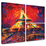Eiffel Tower Gallery-Wrapped Canvas Stretched Canvas Print by Svetlana Novikova