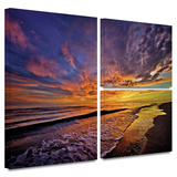 The Sunset Gallery-Wrapped Canvas Stretched Canvas Print by David Liam Kyle