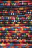 Textiles for Sale in Market in San Miguel De Allende Photographic Print by Macduff Everton