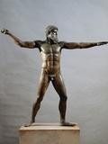 Greek Civilization: Statue of Zeus or Poseidon by Kalamis Photographic Print