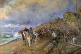 Napoleon Bonaparte Visits the Arsenal of Boulogne, by Maurice Orange Photographic Print