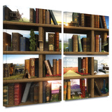 Story World Gallery-Wrapped Canvas Stretched Canvas Print by Cynthia Decker