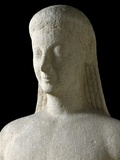 Detail of Kouros of Melos Photographic Print