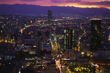 Mexico City at Twilight Photographic Print by Danny Lehman