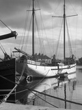 Galway-Boats in the Harbor Photographic Print
