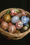Decorative Romanian Easter Eggs Photographic Print by Catherine Karnow