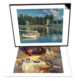 Monet: Luncheon, C1873 & Monet: Argenteuil Set Art by Claude Monet