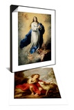 The Infant Saint John the Baptist & Escorial Immaculate Conception Set Art by Bartolome Esteban Murillo