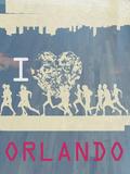 I Heart Running Orlando Posters