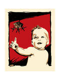 Baby Sting Giclee Print by Billy Perkins