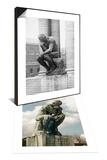Le Penseur & Le Penseur Set Posters by Auguste Rodin