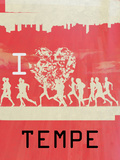I Heart Running Tempe Posters