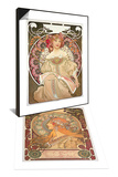 Zodiac, 1896 & Reverie, 1897 Set Posters by Alphonse Marie Mucha