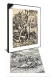 Le monstre marin & Saint Eustache Set Posters by Albrecht Dürer