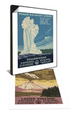 Lassen Volcanic National Park, c.1938 & Yellowstone National Park, c.1938 Set Prints