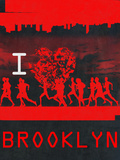 I Heart Running Brooklyn Print