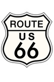 Route 66 Sign Travel Print Poster Posters