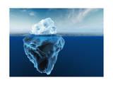 Melting Iceberg Lámina giclée por Matthias Kulka