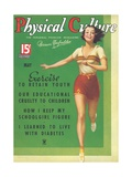 Cover of Physical Culture Magazine Giclee Print by Found Image Press