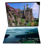 Loch Lomond, Strathclyde, Scotland & Berkeley Castle, Built in 1153, Gloucestershire, England Set Poster by Adam Woolfitt