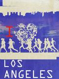 I Heart Running LA Posters