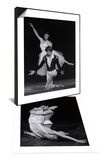 Rudolf Nureyev and Margot Fonteyn in Paradise Lost & Nureyev and Fonteyn in Giselle Set Posters by Anthony Crickmay