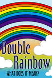 Double Rainbow What Does It Mean Art Print Poster Posters