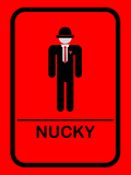 Nucky Bathroom 2 Posters