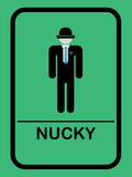 Nucky Bathroom 3 Posters