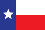 Texas Flag Art Print Poster Prints