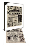 Apollo Theatre Ad & Apollo Theatre Handbill Set Prints