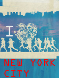 I Heart Running NYC 2 Print
