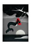 La sirène Affiches par  Daykamp Creative