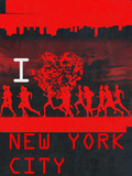I Heart Running NYC Posters