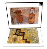 The House on the Hill & Bride and Groom in Autumn of Life Set Prints by Paul Klee