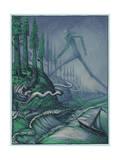 Yeti Giclee Print by David Welker