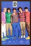 One Direction Signatures Blue Prints