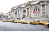 New York City (Metropolitan Museum of Art, Color) Art Poster Print Art